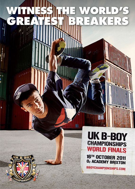 UK B-Boy Championships World Finals 2011 poster