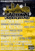 Sactown Underground | Bboy Crew and All Styles Battle