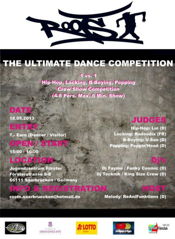 ROOTS MId West Germany 2013 The Ultimate Dance Competition At BboyEvent