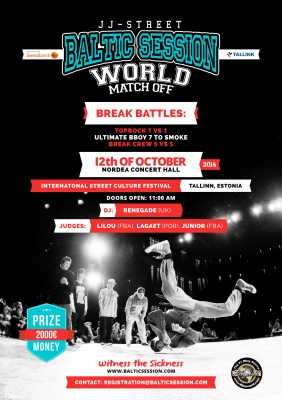 JJ-Street Baltic Session 2014: World Match Off