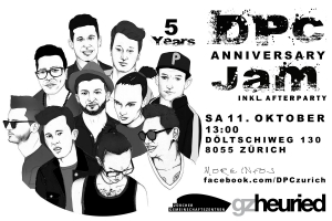 D.POINT.C Crew 5 Years Anniversary Jam
