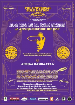 40th Anniversary of Hip-Hop Culture & 41st of Universal Zulu Nation