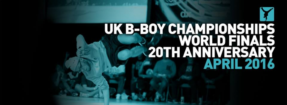UK B-Boy Championships World Finals: 20th Anniversary poster