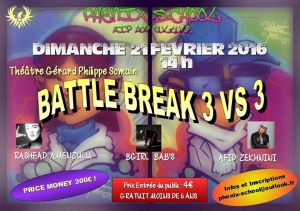 Phenix School Battle 3 vs 3 2016