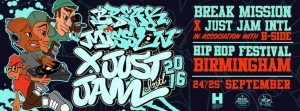 Break Mission X Just Jam Intl 2016
