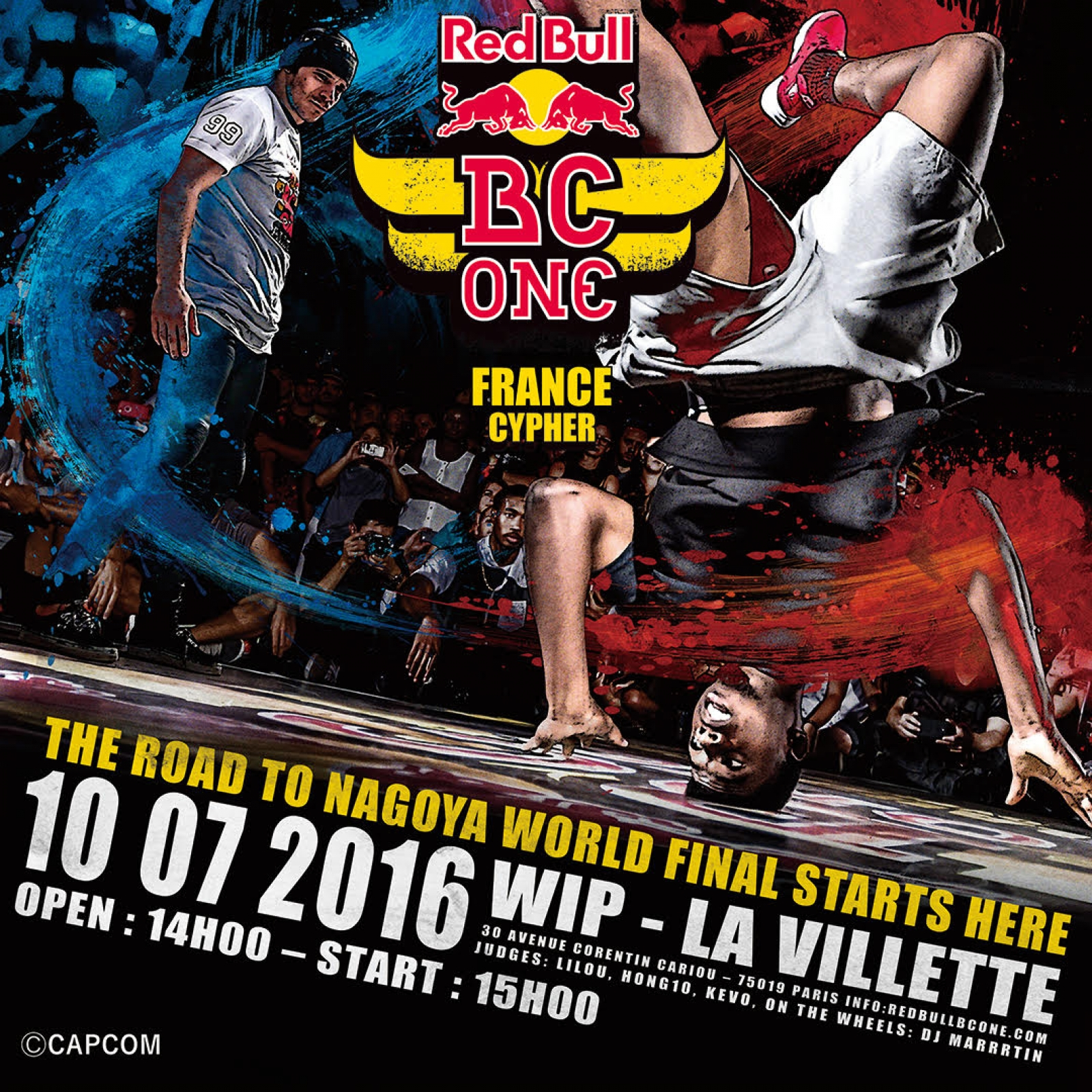 RED BULL BC ONE CAMP poster