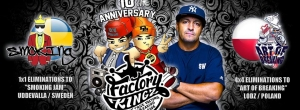 Factory Kingz & Depils Originals 10th Anniversary