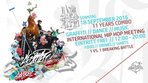 11th Anniversary // Combo Hip Hop Kulturzentrum //
