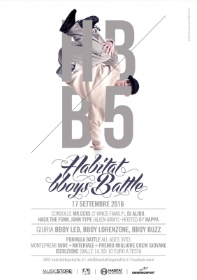 HABITAT BBOYS BATTLE V EDITION