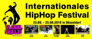 Global Skillz! Das internationale Hip Hop Festival in Düsseldorf!