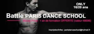Battle 16/20 ans Paris Dance School