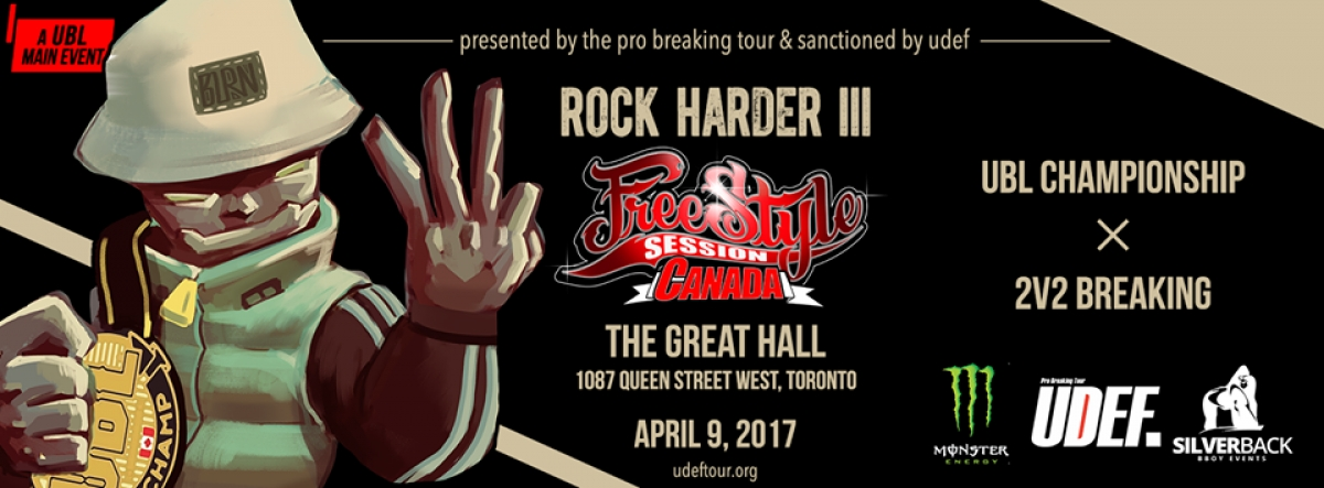 Rock Harder III: Freestyle Session Canada poster