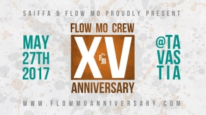 Flow Mo 15th Year Anniversary Weekend 2017