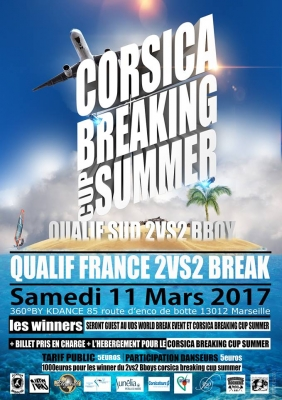 QUALIFICATION France Corsica Breaking cup Summer 2VS2 BBOY