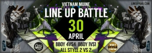 Line Up Dance Battle 3