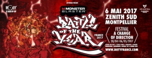 Monster Blaster Battle Of The Year France 2017