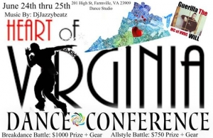 Heart Of Virginia Dance Conference 2017
