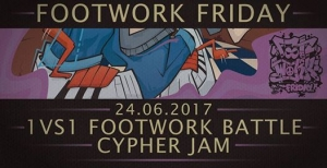 Footwork Friday Summer Saturday Edition 2017