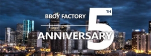 Bboy Factory 5th Anniversary 2017