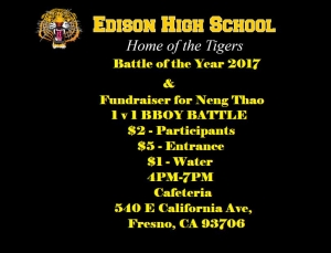 Edison's 6th Annual Battle of the Year 2017