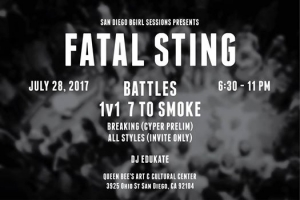 Fatal Sting Breaking And All Styles Battle 2017