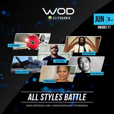All Styles Battles - World of Dance Lithuania Qualifier 2017