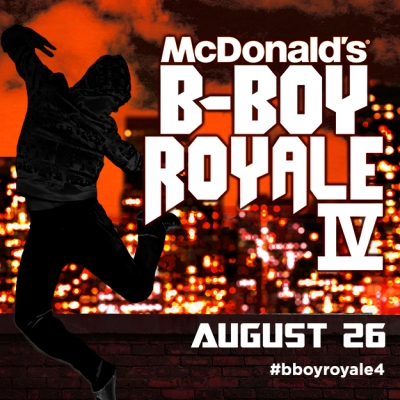 McDONALD'S B-BOY ROYALE 4