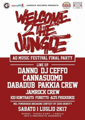 Welcome 2the Jungle 2017
