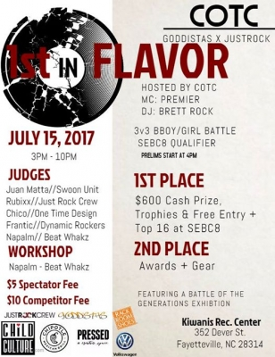 First In Flavor 2017