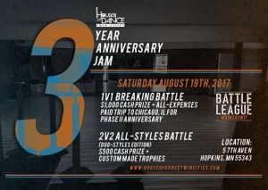 House Of Dance Twin Cities 3 Year Anniversary 2017