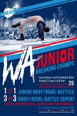 W.A. Junior Breaking Champs 2017