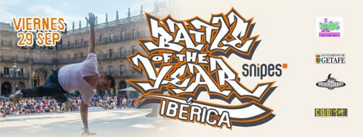 Battle of the Year Iberica 2017 poster