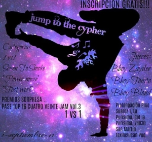 Jump To The Cypher Jam 1
