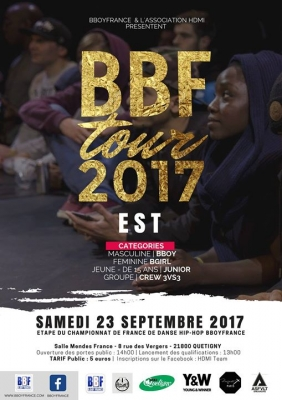 Qualification Grand Est Bboy France 2017