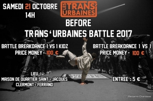 Before Trans'urbaines Battle 2017