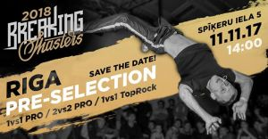 Breaking Masters RIGA preselection