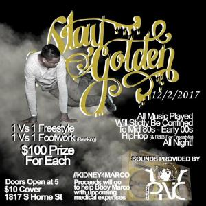 Stay Golden 2017