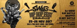 UD TOWN Present SWAG Hip-Hop Festival 2017