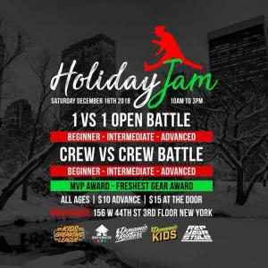 Kids Breaking League Holiday Jam 2017