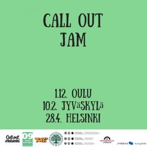 Call out jam Weekend 2018