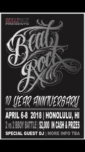 Skillz Talk x Beat Rock Krew 10 year Anniversary 2018