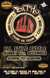 Battle All In 2017