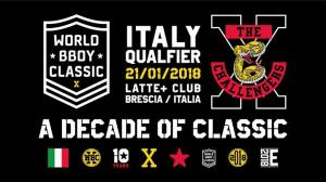 World Bboy Classic ITALY Qualifier 2018