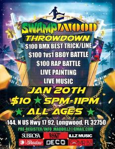 Swamp Wood Throwdown 2018