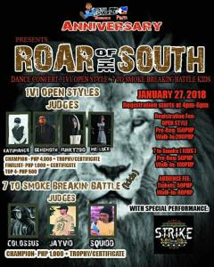 ELDC FAM Anniversary Roar of the South 2018