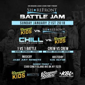 Shore Front Y Battle Jam 2018