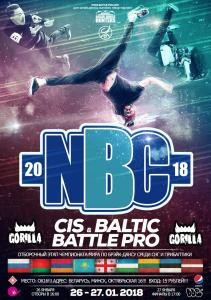 NBC: CIS & BALTIC BATTLE PRO 2018!
