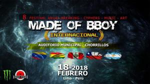 Made Of BBoy Internacional 2018