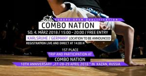 Combo Nation Europe Open 2018