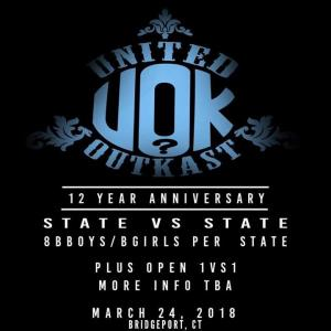 United OutKast 12 Year Anniversary 2018